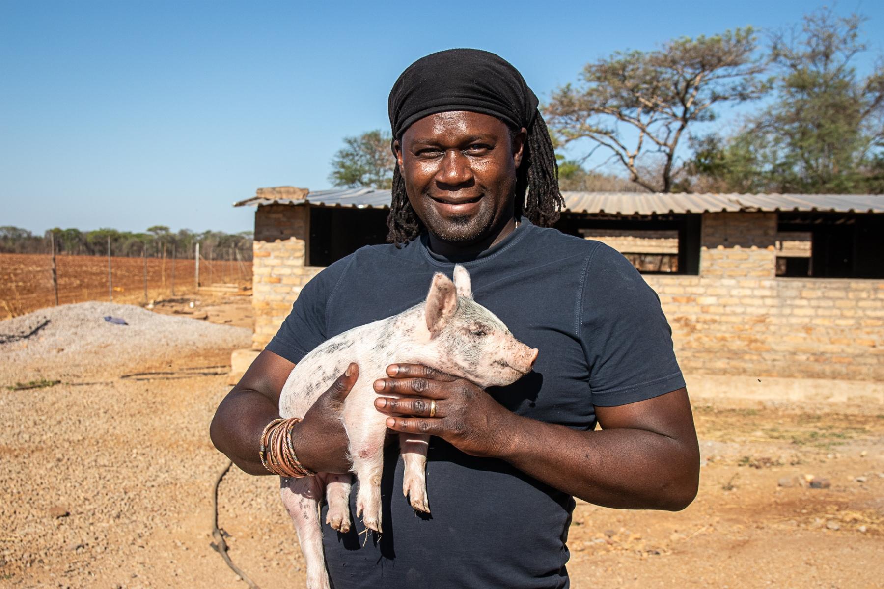 Simbabwe, 2019: Farmer Peter Musavayi
