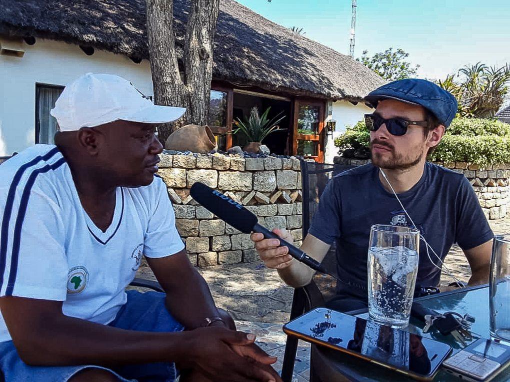 Bei der Arbeit: Interview mit Lovemore Mandima in Masvingo, Simbabwe